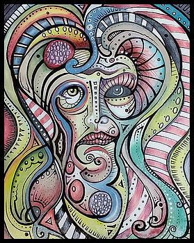 Tribal Mask by Matt Mercer