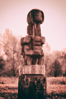 Tribal Sunburst by Luke Aldington