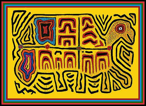Tribal Turtle Spirit by Vagabond Folk Art - Virginia Vivier