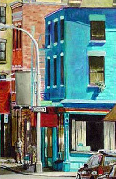 Tribeca Teal by George Grace