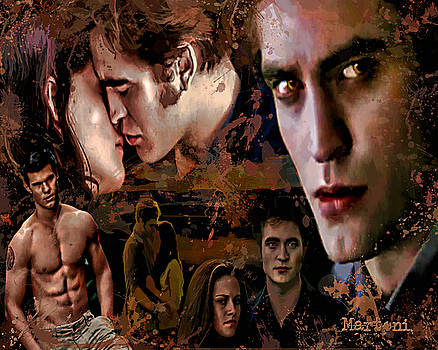 Tribute to Eclipse Pattinson Stewart Lautner by Alex Martoni