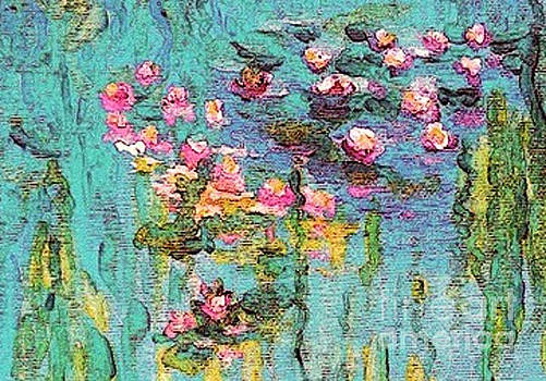 Tribute to Monet II by Holly Martinson