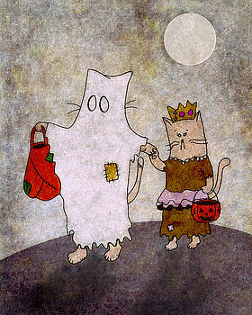 Trick-or-Treat Cats by Jayme Kinsey