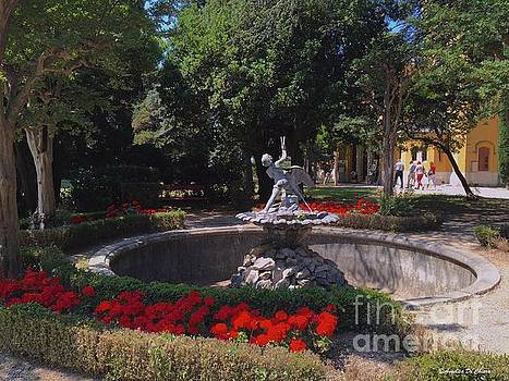 Trieste - Garden at Miramare by Italian Art