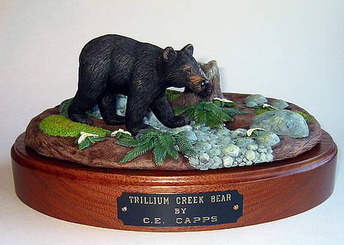 Trillium Creek Bear by Carl Capps