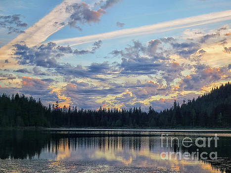 Trillium Lake by Karen Adams