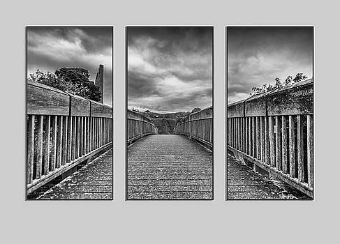 Trim Triptych 3 by Martina Fagan