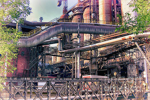 Trinec Iron And Steel Works IV by Mariola Bitner