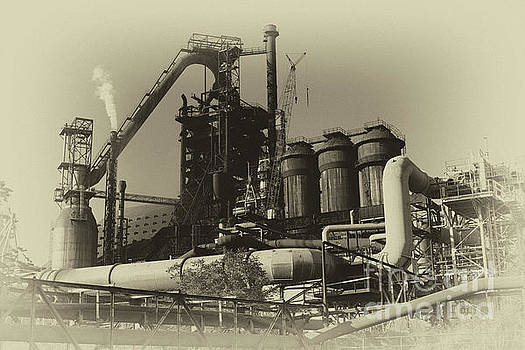Trinec Iron and Steel Works by Mariola Bitner