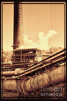 Trinec Iron And Steel Works VII by Mariola Bitner
