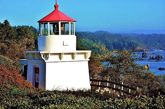 Trinidad Lighthouse by Helen Carson