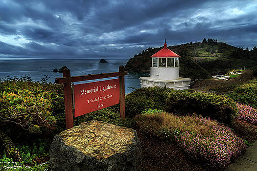 Trinidad Memorial Lighthouse by James Eddy