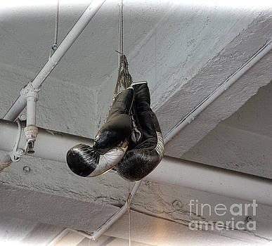 Chuck Kuhn - Trinity Boxing Gloves High Up NY