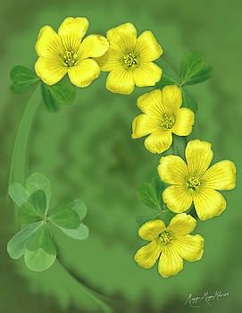 Trinity Clover by Maggie Magee Molino