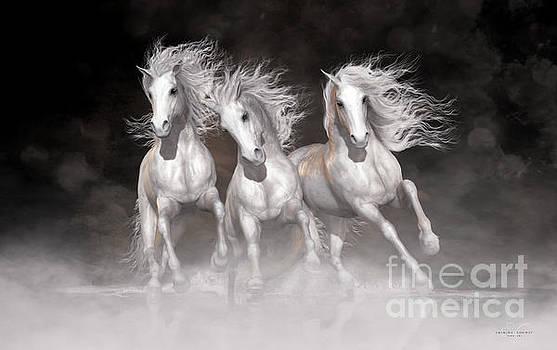 Trinity Horses Neutrals by Shanina Conway
