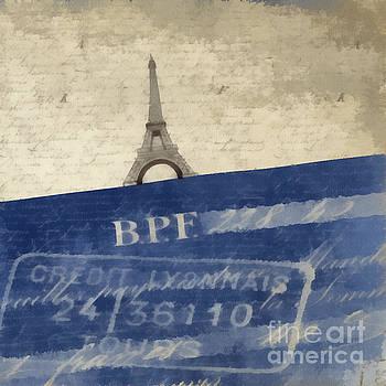 Edward Fielding - Trip to Paris Square Pillow Size