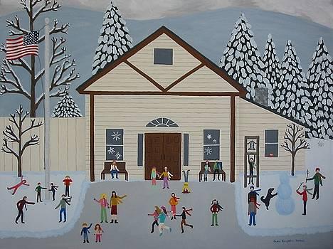 Triple Dog Dare At Maple Street School by Susan Houghton Debus