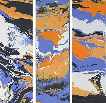 Triple Orange by Mikki Alhart