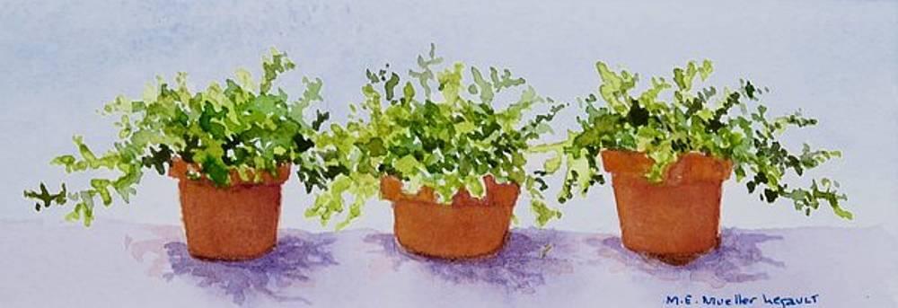 Triplets by Mary Ellen Mueller Legault