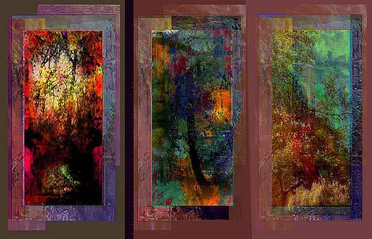 Triptych 7 by Sidney Orlovitz
