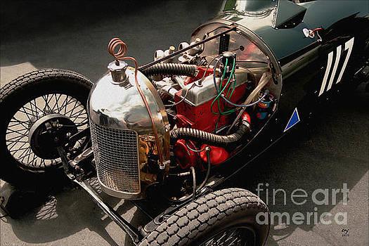 Triumph 9 1939 by Curt Johnson