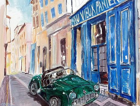 Triumph au Panier by Chris Walker