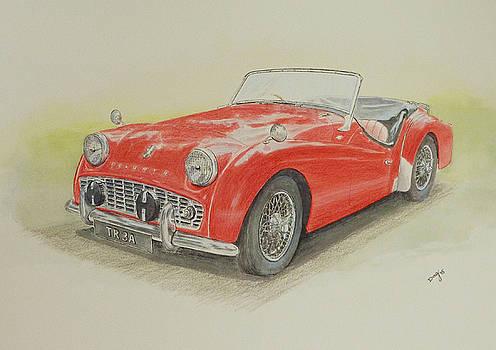 Triumph TR3a by David Godbolt