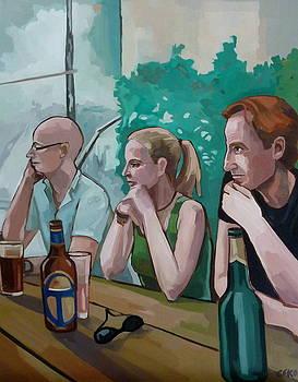 Triumvirate by Carmen Stanescu Kutzelnig