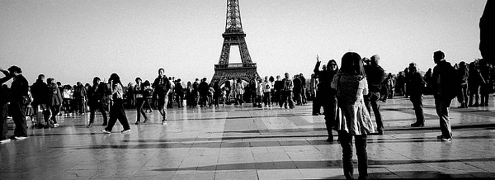 Cyril Jayant - Trocadero in panoramic view . Paris.