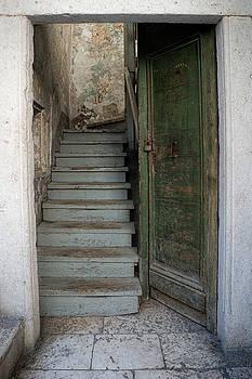 Trogir Door and Stairs by Eric  Bjerke Sr