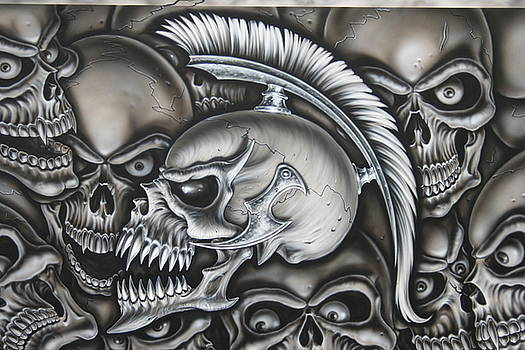 Trojan Skull  by Terry Stephens