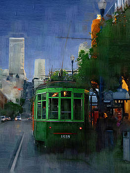 Robert Bissett - Trolley at Night