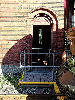 Trolly at the gate house by Bruce Wood