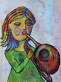 Trombone Girl by Mary Conner