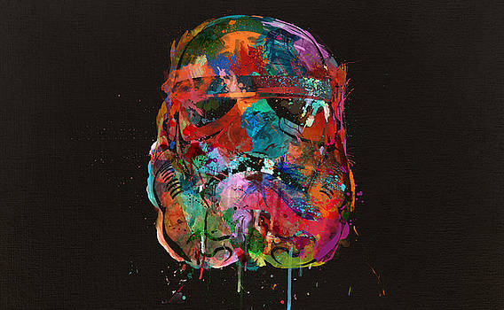 Trooper in a Storm of Color by Mitch Boyce