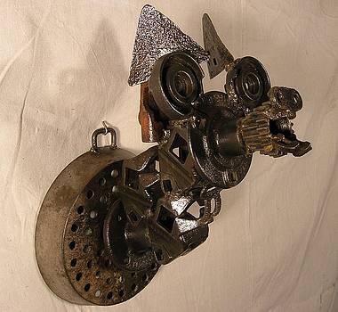 Trophy Head Bear by Chris Jaworski