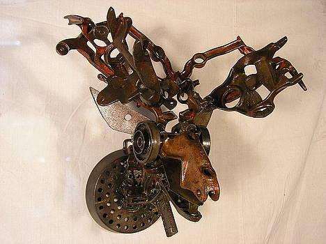 Trophy Head Moose by Chris Jaworski