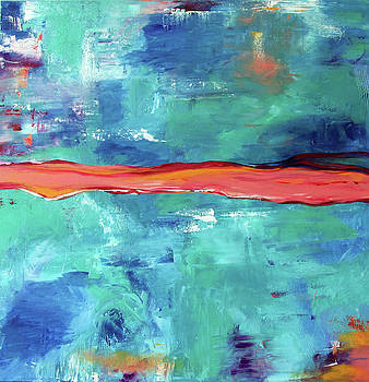 Tropical Abstract I  by Victoria Johns