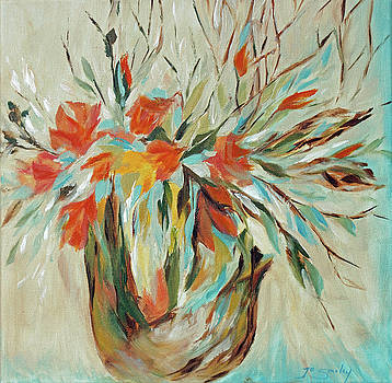Tropical Arrangement by Joanne Smoley