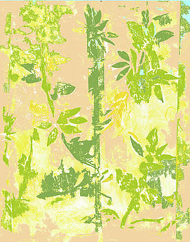 Tropical Bamboo One by Barbara Jacobs