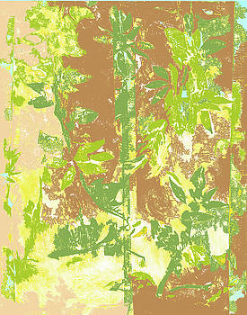 Tropical Bamboo Two by Barbara Jacobs