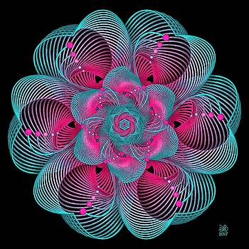 Tropical Bloom by David Voutsinas