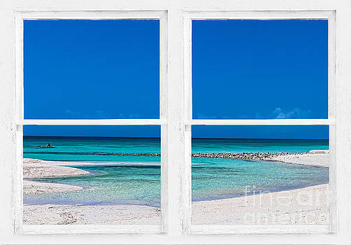 James BO Insogna - Tropical Blue Ocean Window View