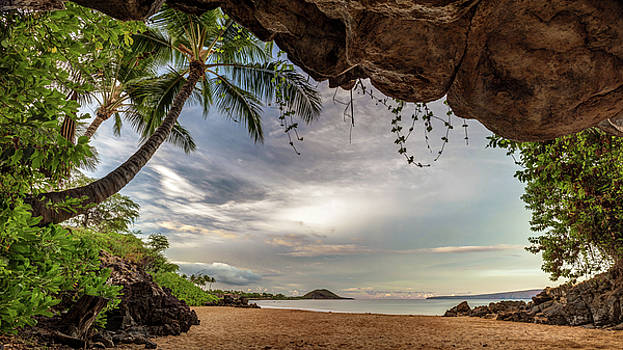 Tropical Cave of South Maui by Pierre Leclerc Photography