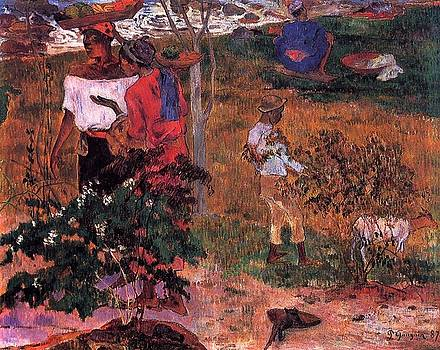 Gauguin - Tropical Conversation
