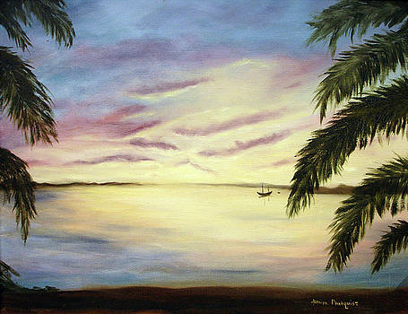Tropical Evening by Jeanine Dahlquist