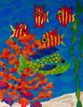 Tropical Fish by Jeanette Lindblad