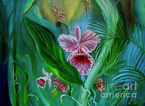Tropical Flower 11 by Jenny Lee