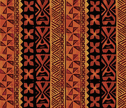 Tropical Folk Art by Vagabond Folk Art - Virginia Vivier