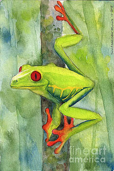 Tropical Frog by Sara Alexander Munoz